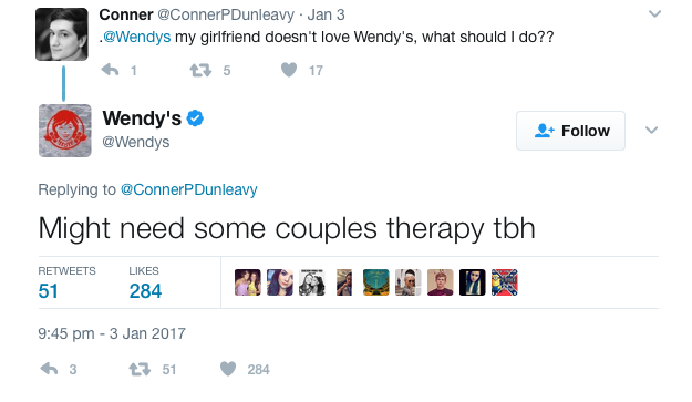 Wendy's customer service 2
