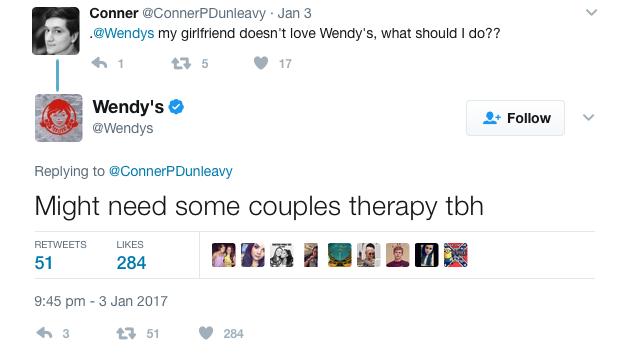 Wendy's customer service 2