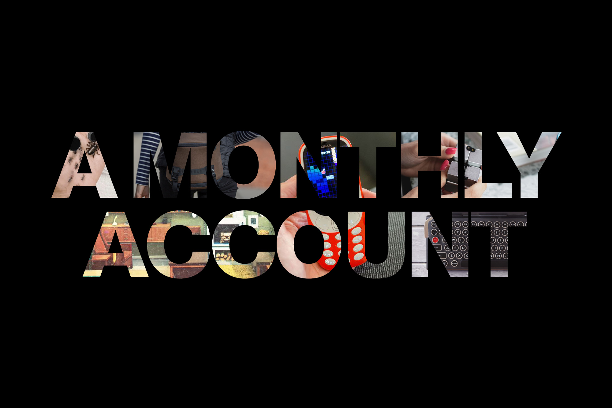 a monthly account may