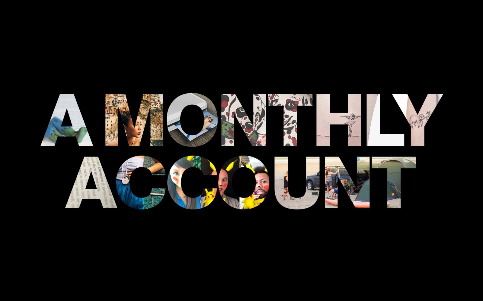 A Monthly Account August main image